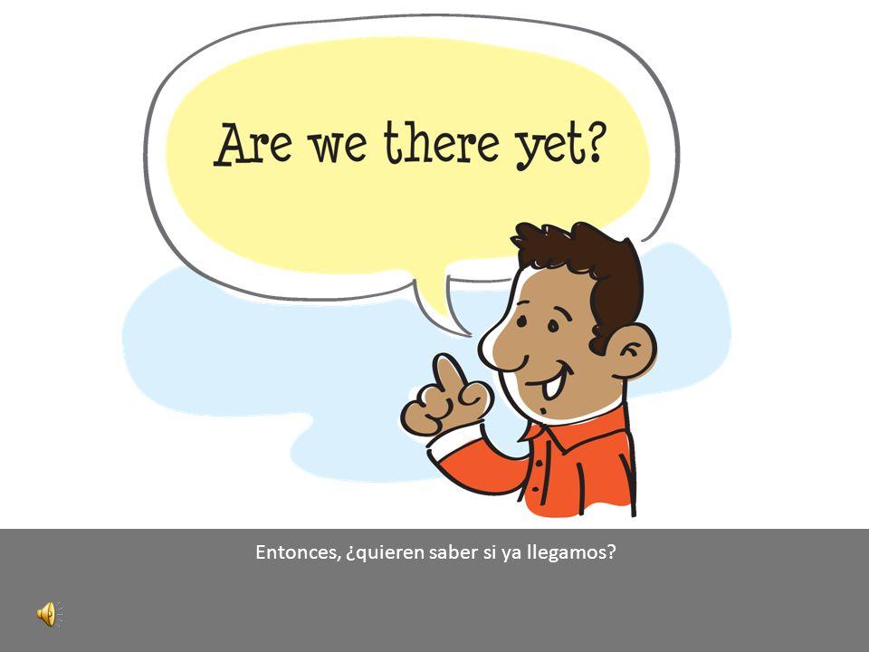 Cuando tomamos nuestros planes, presupuestos y equipos, lo que tenemos es el itinerario para nuestro viaje estratégico.