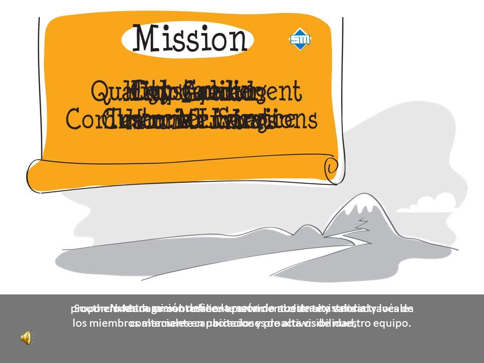 En Southern Management también tenemos una misión y una visión que definen nuestro viaje estratégico.