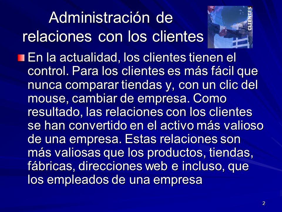 13 Servicio y apoyo al cliente Un sistema CRM proporciona a los representantes de servicio las herramientas de software y el acceso en tiempo real a la base de datos común de los clientes que comparten los profesionales de ventas y de mercadotecnia.