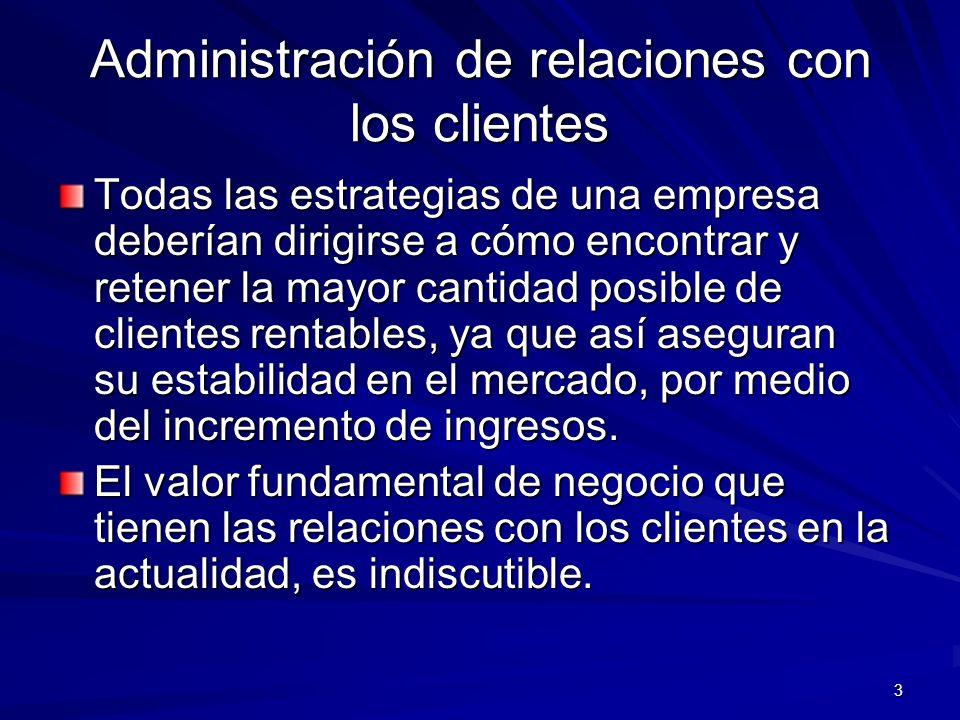 4 Sistemas de Administración de las Relaciones con los Clientes CRM Posibilitan que los negocios de todos los tamaños e industrias mejoren de manera drástica su enfoque en el servicio al cliente.