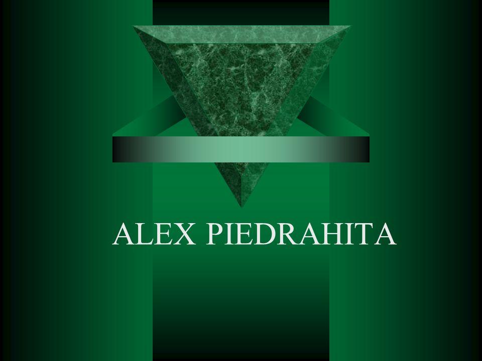 ALEX PIEDRAHITA