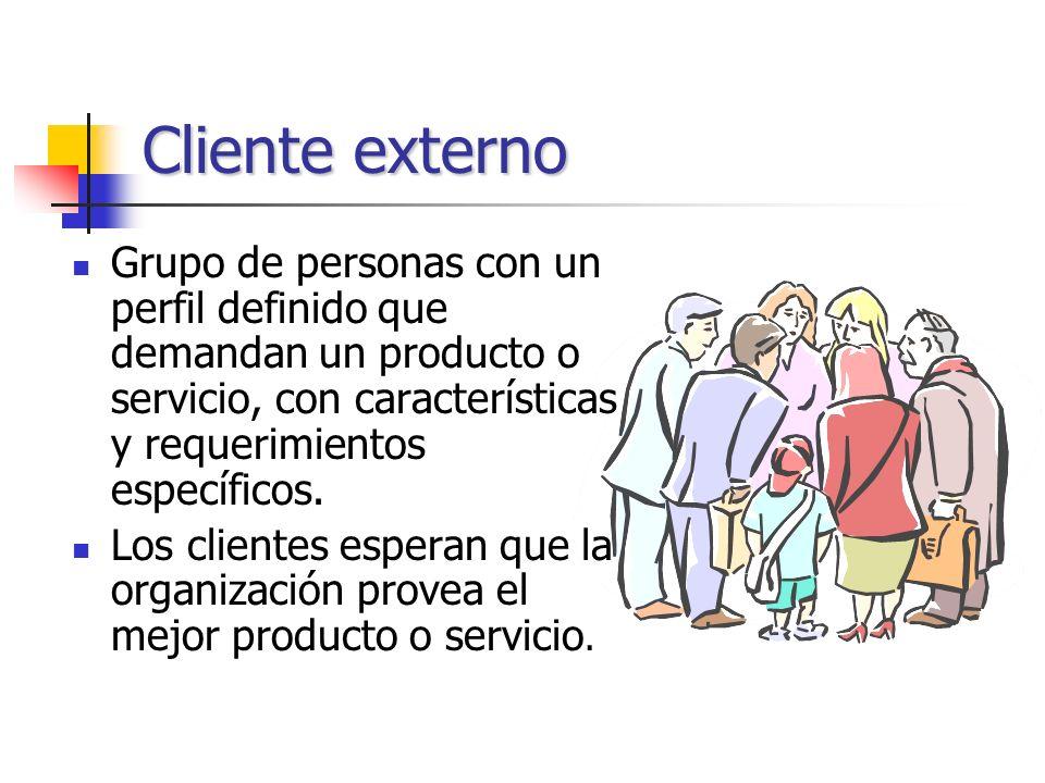 Son la esencia misma de la organización. Son todos los integrantes o miembros de la organización,. Clientes internos