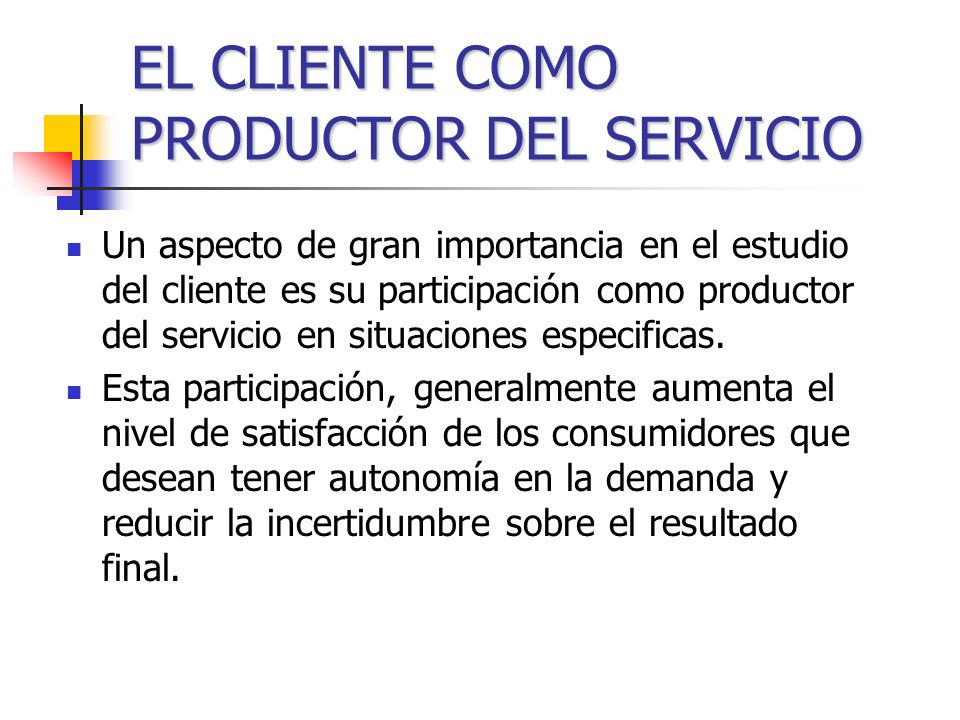 Grupo de personas con un perfil definido que demandan un producto o servicio, con características y requerimientos específicos. Los clientes esperan q