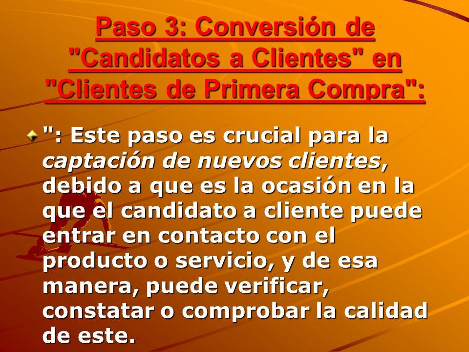 Paso 3: Conversión de