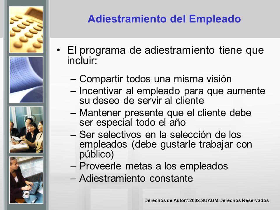 Derechos de Autor©2008.SUAGM.Derechos Reservados Necesidades del Cliente Juran (1999) menciona las siguientes como necesidades del cliente: – Expresadas – Reales – Percibidas – Culturales – No propuestas