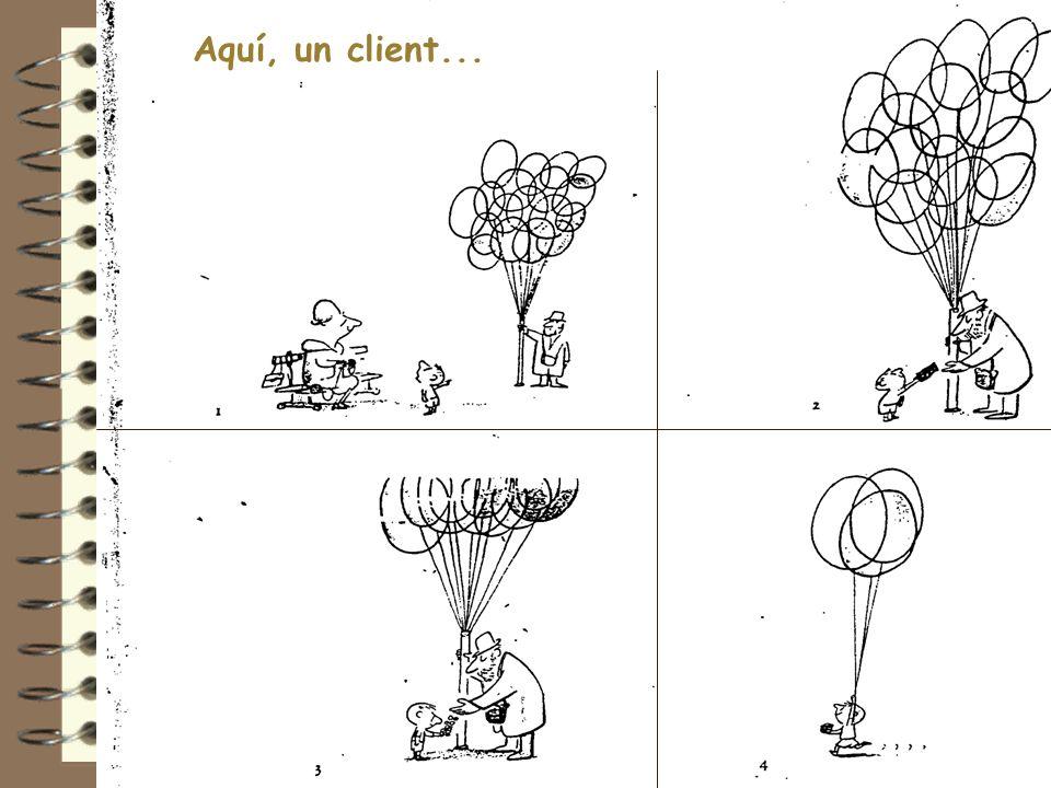 5 6 Aquí, un client...