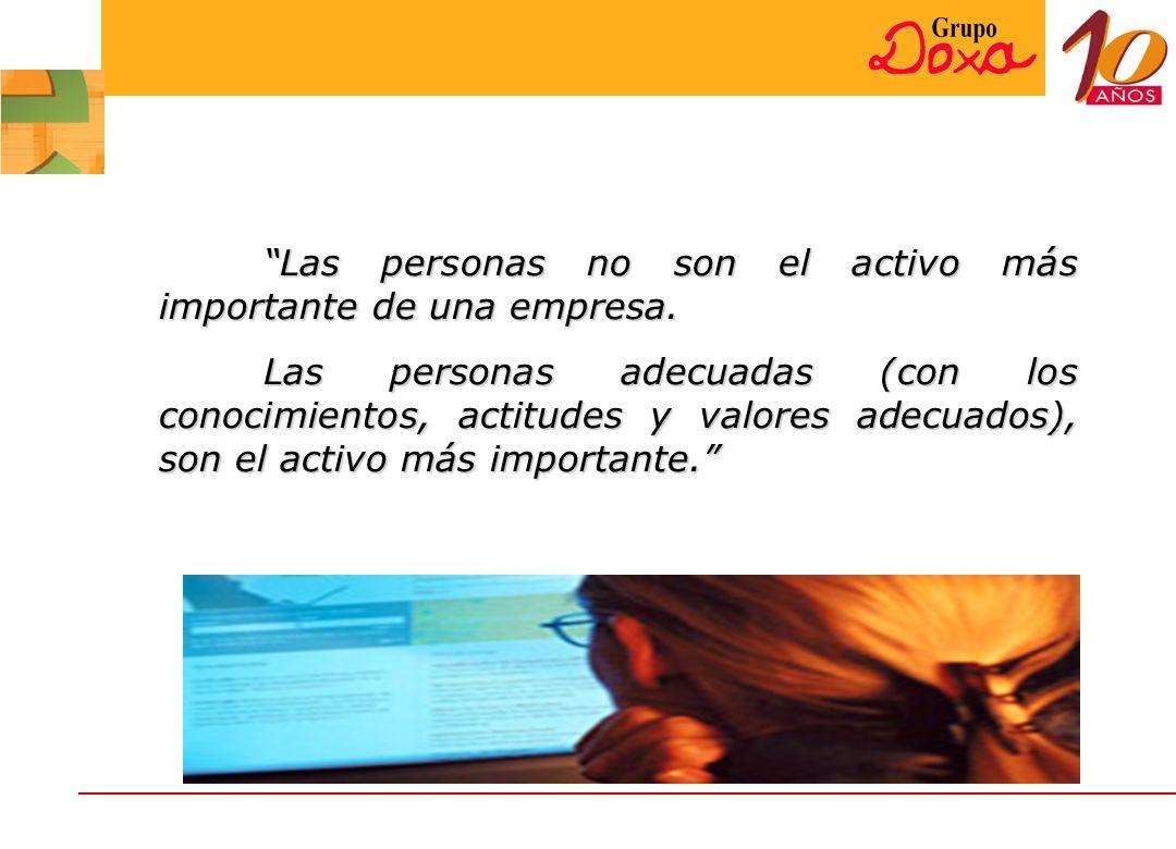 Las personas no son el activo más importante de una empresa.