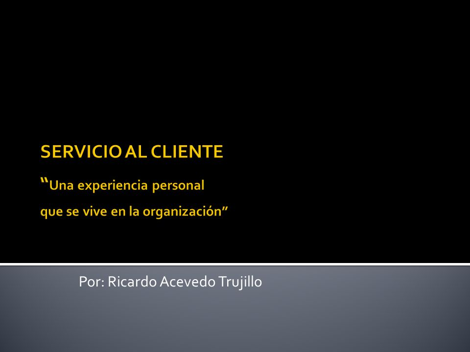 Por: Ricardo Acevedo Trujillo