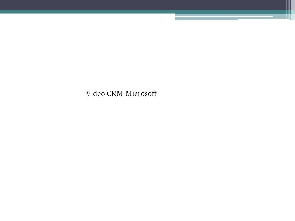 Video CRM Microsoft