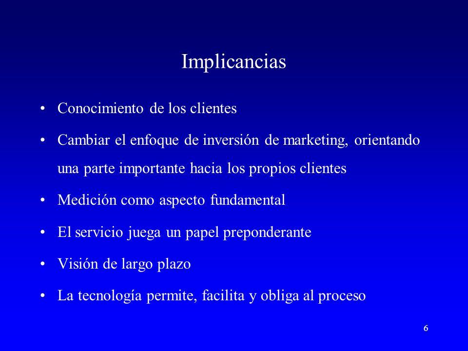 7 Era del Relationship Marketing En los negocios, al igual que en la vida, todo es relaciones.