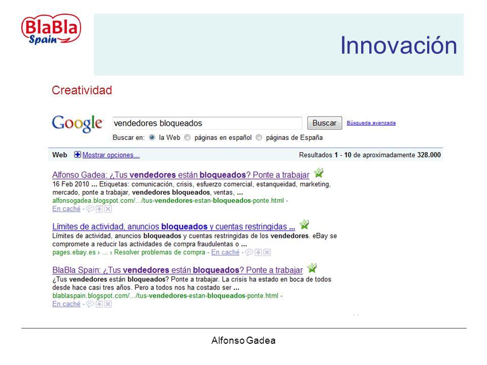 Alfonso Gadea Innovación Creatividad