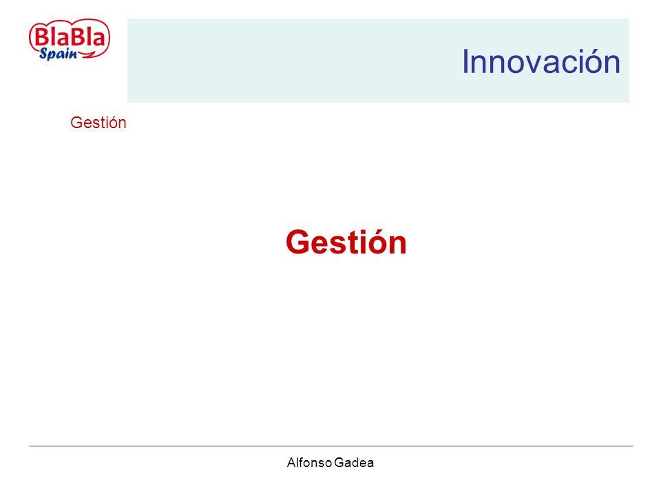 Alfonso Gadea Innovación Gestión