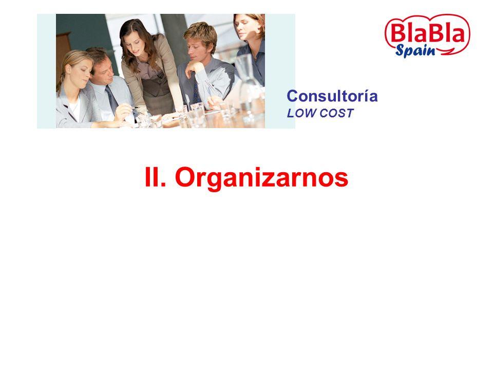 II. Organizarnos Consultoría LOW COST