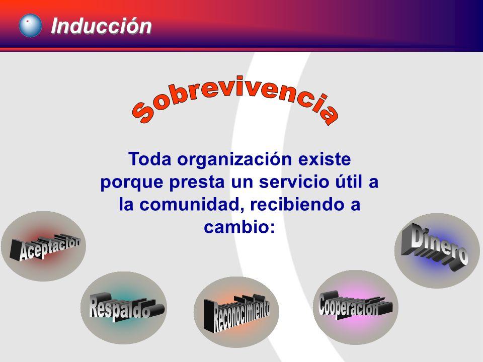 Por lo tanto, cuanto más útil sea el servicio que presta y así sea percibido, más valorización se obtendrá para la organización y sus integrantes.
