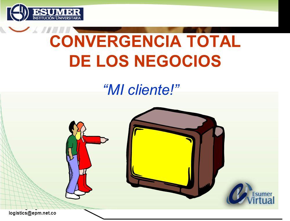 www.highlogistics.com logistics@epm.net.co CONVERGENCIA TOTAL DE LOS NEGOCIOS MI cliente!