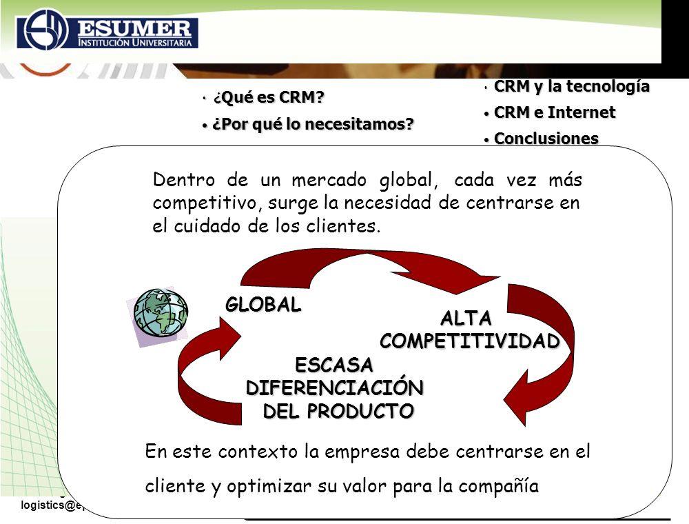 www.highlogistics.com logistics@epm.net.co Dentro de un mercado global, cada vez más competitivo, surge la necesidad de centrarse en el cuidado de los
