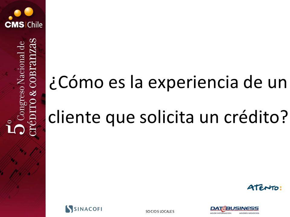 ¿Cómo es la experiencia de un cliente que solicita un crédito?
