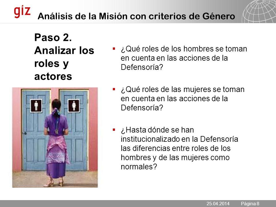 25.04.2014 Seite 8 Página 8 Paso 2.