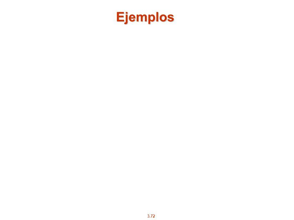 3.72 Ejemplos