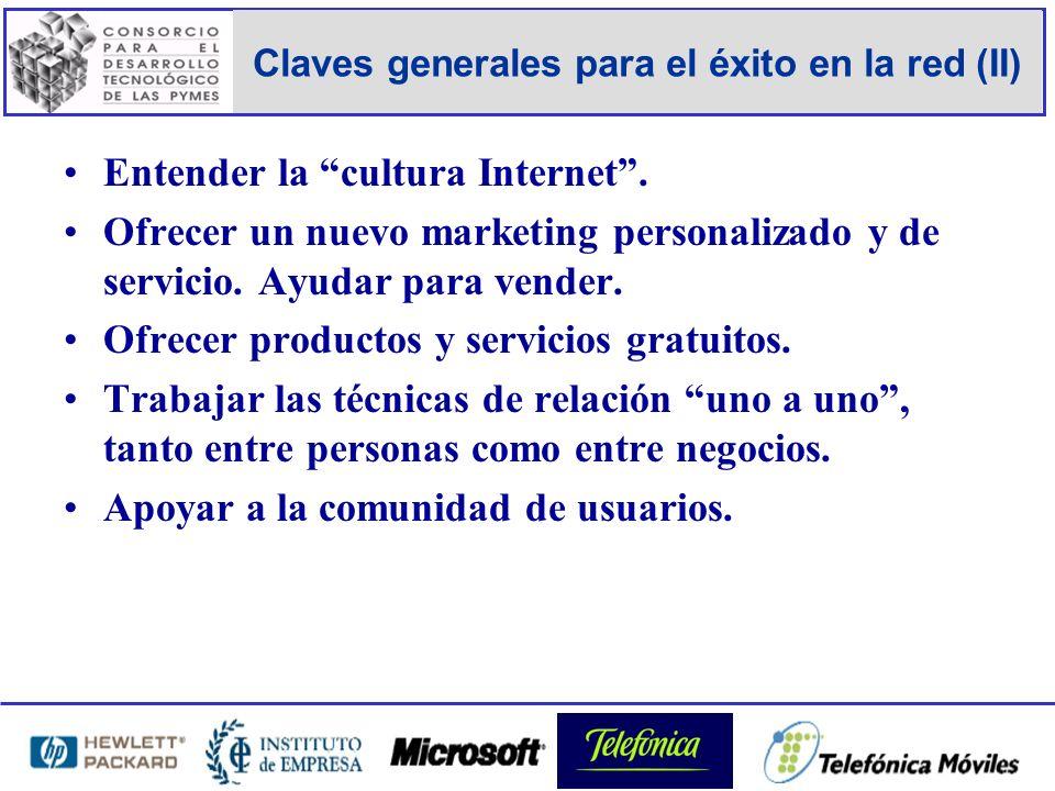 Claves generales para el éxito en la red (II) Entender la cultura Internet.