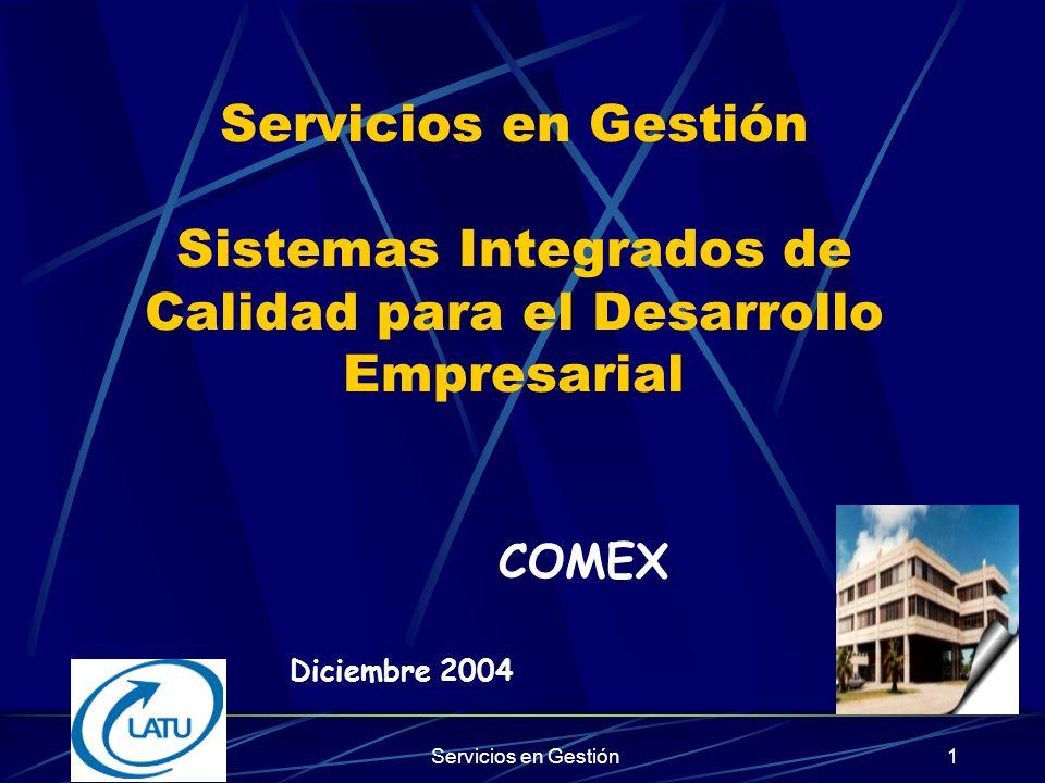 Servicios en Gestión51 Comparación entre un sistema de GC y TQM