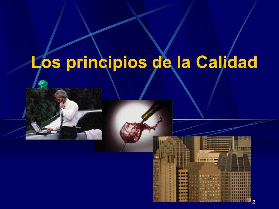 2 Los principios de la Calidad