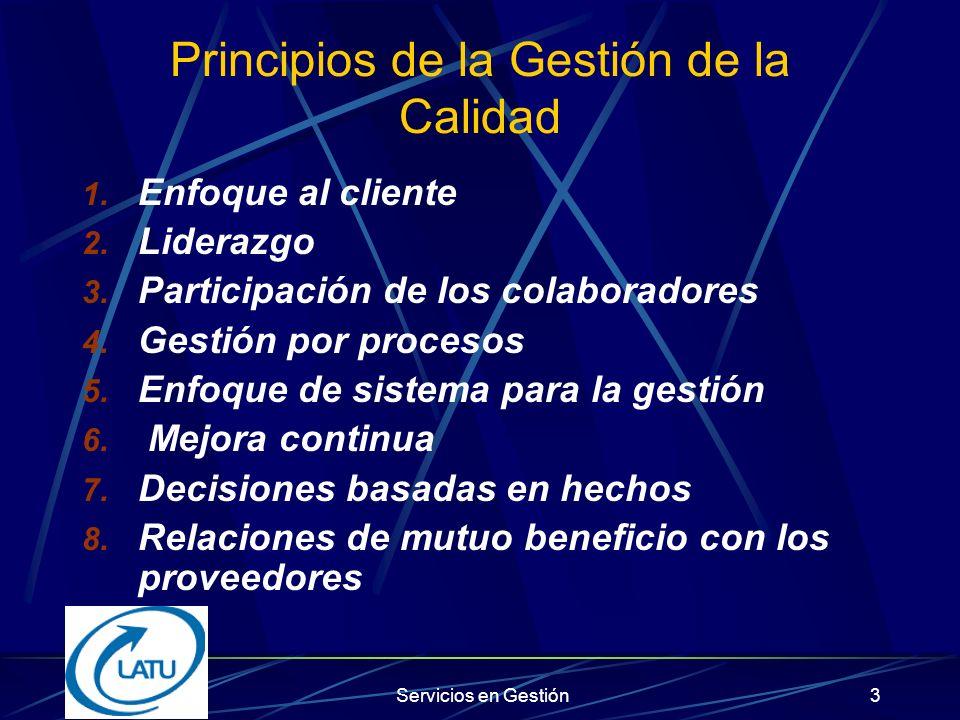 Servicios en Gestión53 Relación entre los premios a la calidad y la norma ISO 9001