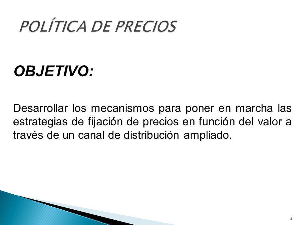 3) Estrategia del canal.