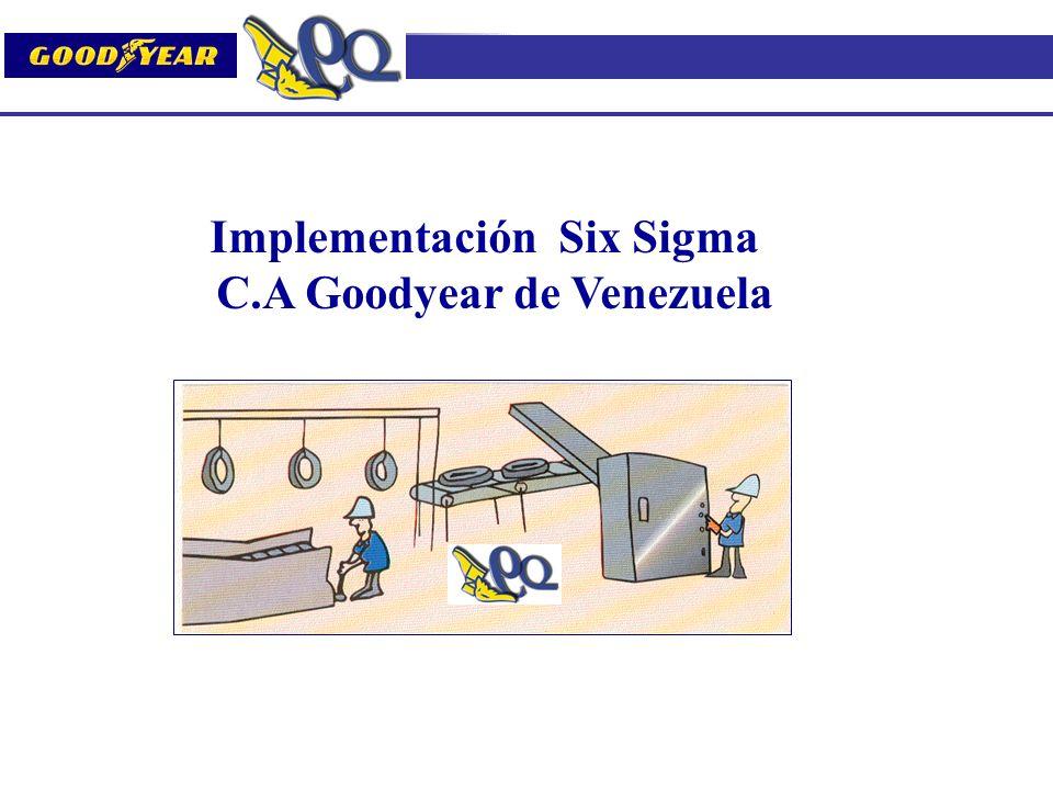 Implementación Six Sigma C.A Goodyear de Venezuela