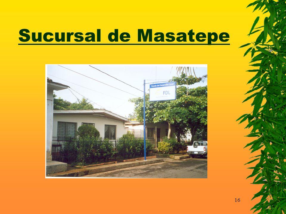16 Sucursal de Masatepe