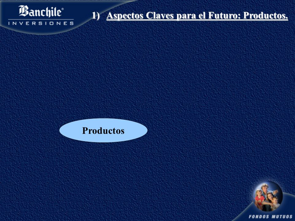 Productos 1)Aspectos Claves para el Futuro: Productos.