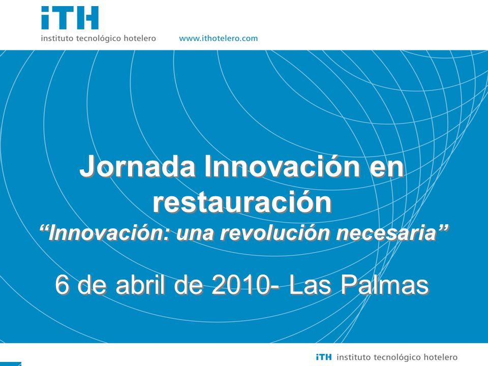 Soluciones Sencillas a Cuestiones importantes 1 Jornada Innovación en restauración Innovación: una revolución necesaria 6 de abril de 2010- Las Palmas