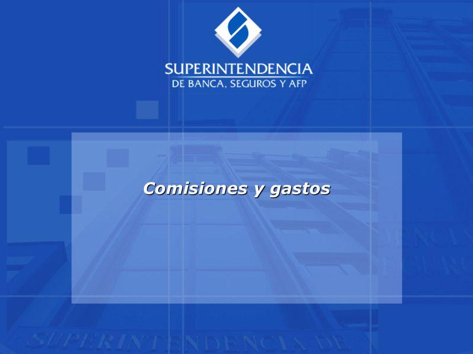 Comisiones y gastos