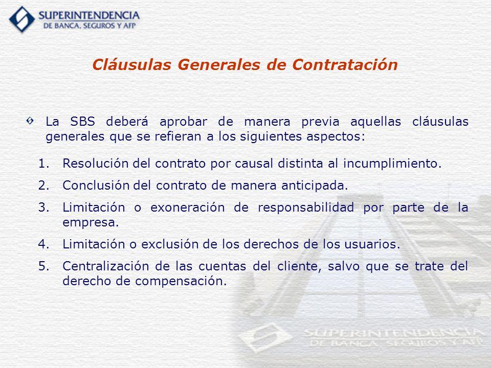 1. 1.Resolución del contrato por causal distinta al incumplimiento. 2. 2.Conclusión del contrato de manera anticipada. 3. 3.Limitación o exoneración d