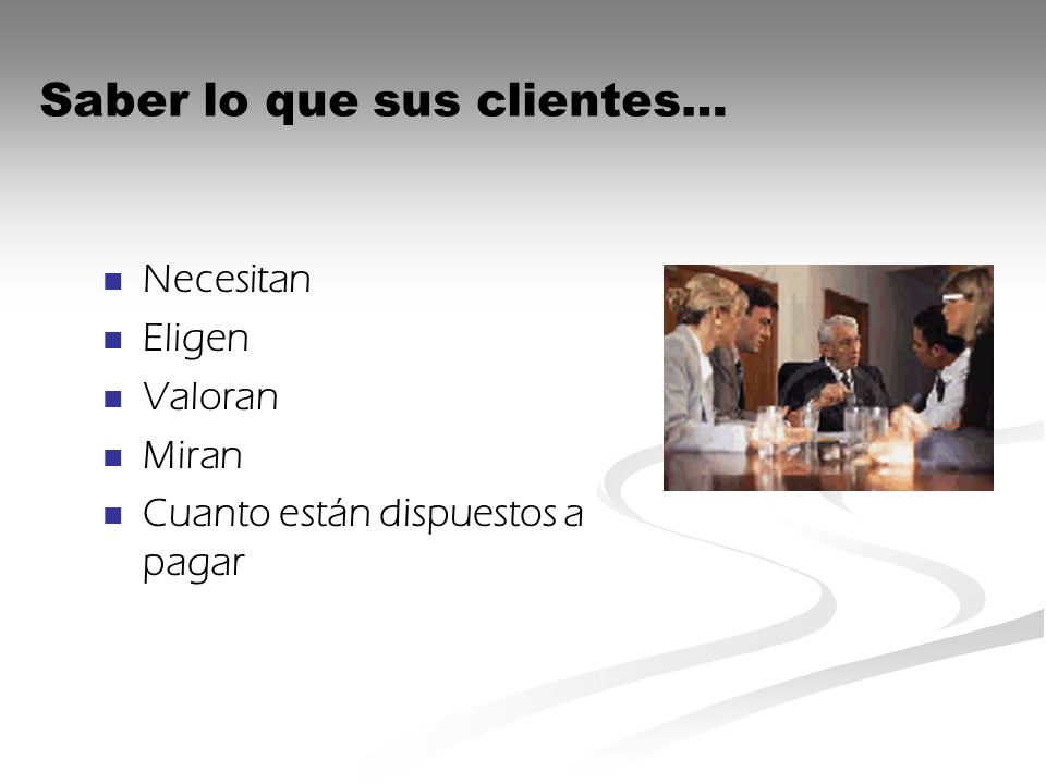 Necesitan Eligen Valoran Miran Cuanto están dispuestos a pagar Saber lo que sus clientes…