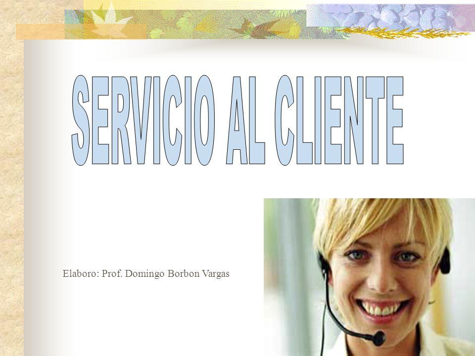 SERVICIO AL CLIENTE Es el conjunto de actividades interrelacionadas que ofrece una empresa con el fín de que el cliente reciba el producto en el momento y lugar adecuado asegurando su uso.