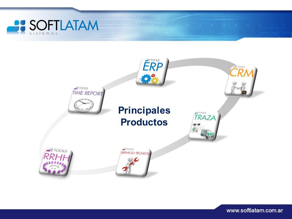 www.softlatam.com.ar Principales Productos