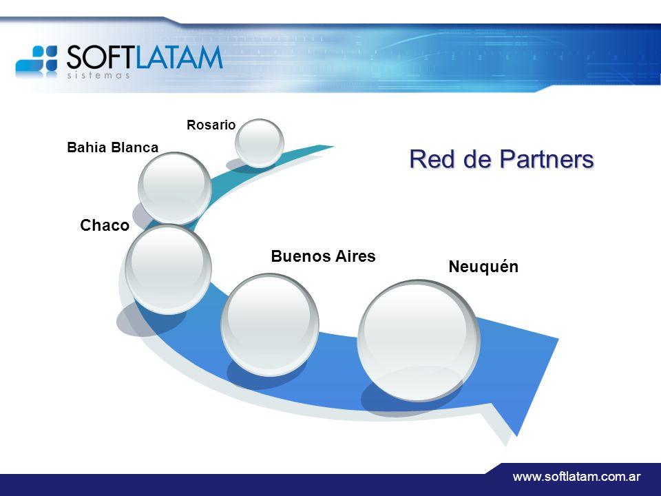 www.softlatam.com.ar Red de Partners Buenos Aires Bahia Blanca Rosario Chaco Neuquén