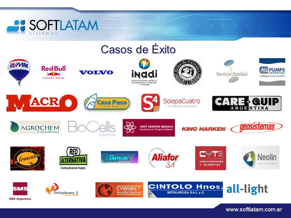 www.softlatam.com.ar Casos de Éxito
