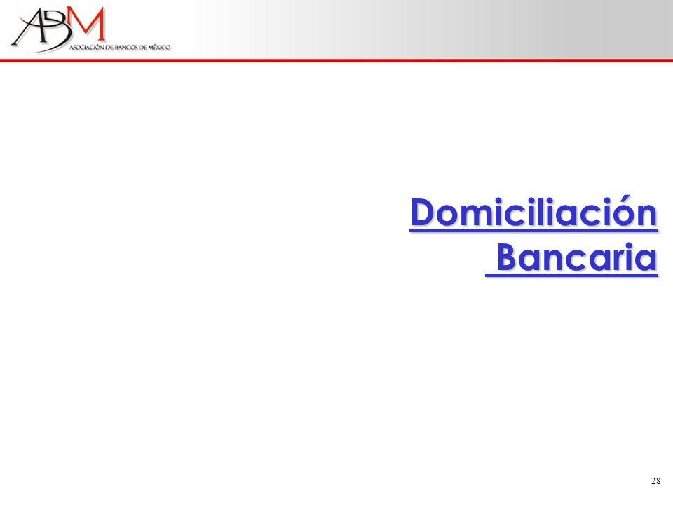 28 Domiciliación Bancaria