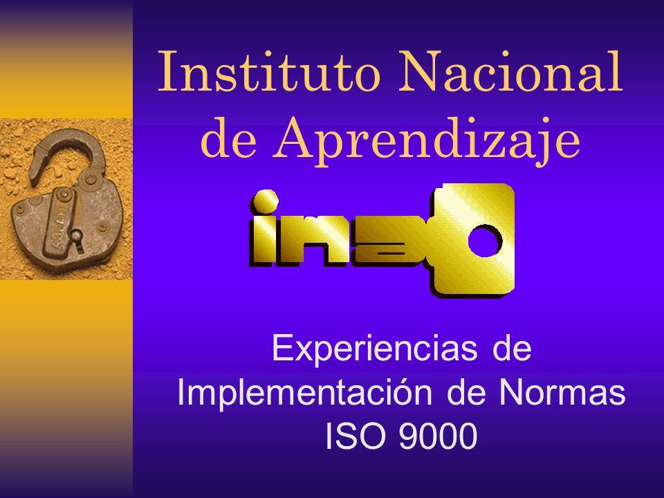 Norma ISO 9001 :94 4.1 Responsabilidad Gerencial 4.2 Sistema de Calidad 4.3 Revisión del contrato 4.4 Control del diseño 4.5 Control de documentos y datos 4.6 Compras 4.7 Control del producto suministrado por el cliente 4.8 Identificación del producto y trazabilidad 4.9 Control del proceso 4.10 Inspección y ensayo 4.11 Control del equipo de inspección, medición y ensayo 4.12 Estado de insp.