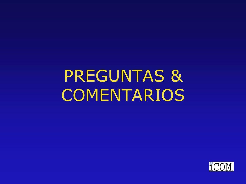 PREGUNTAS & COMENTARIOS