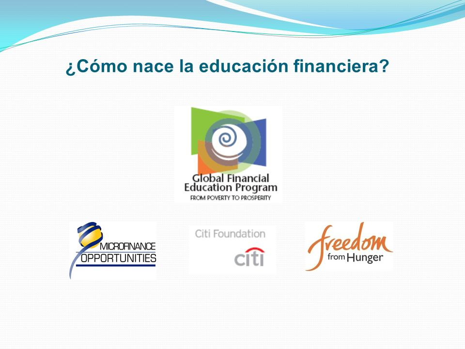 Los Avances en Educación Financiera: Algunas cifras