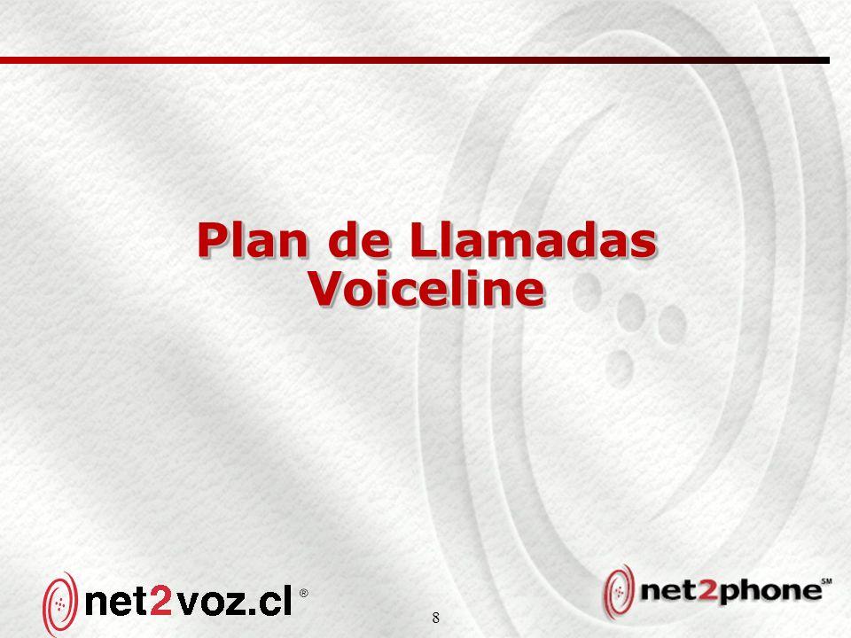 8 Plan de Llamadas Voiceline
