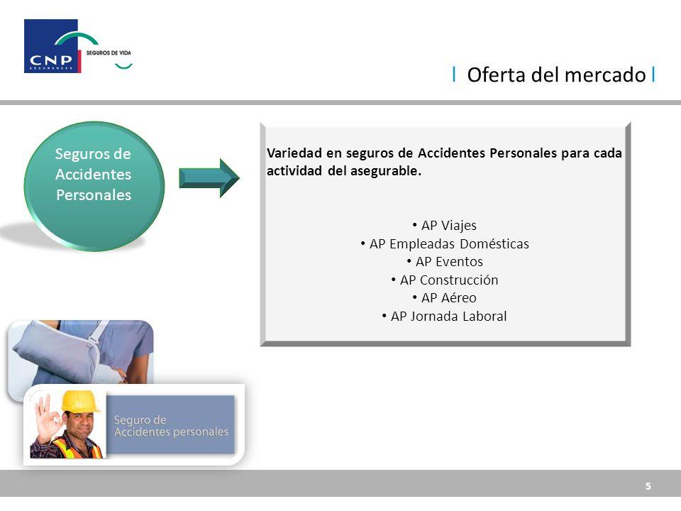 5 5 Seguros de Accidentes Personales Variedad en seguros de Accidentes Personales para cada actividad del asegurable.