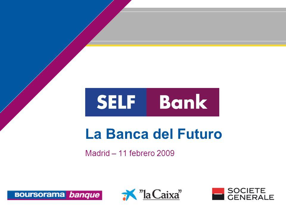 2 Self Bank: Presentación del Acuerdo Sr. Juan María Nin Director General de la Caixa