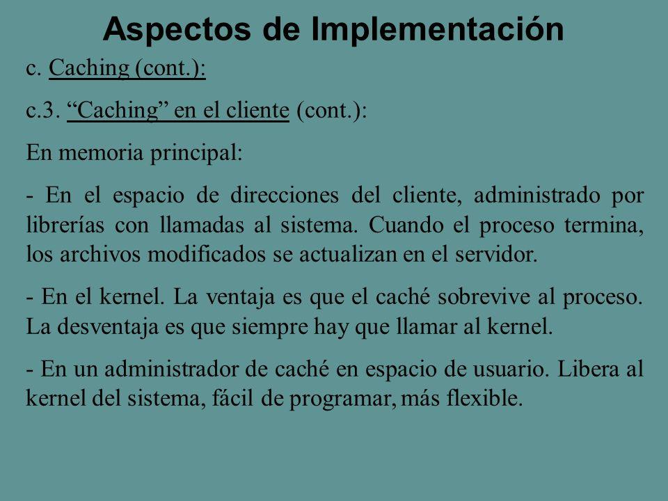c. Caching (cont.): c.3.