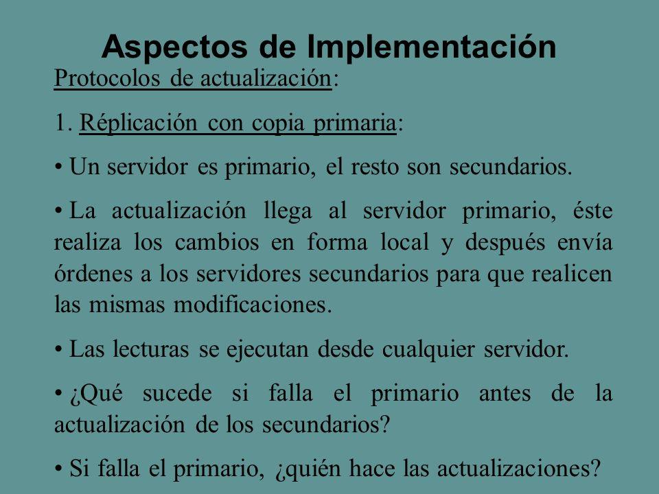 Protocolos de actualización: 1.