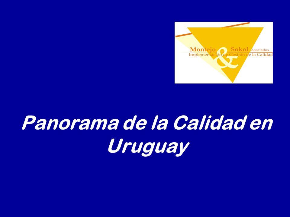 Panorama de la Calidad en Uruguay