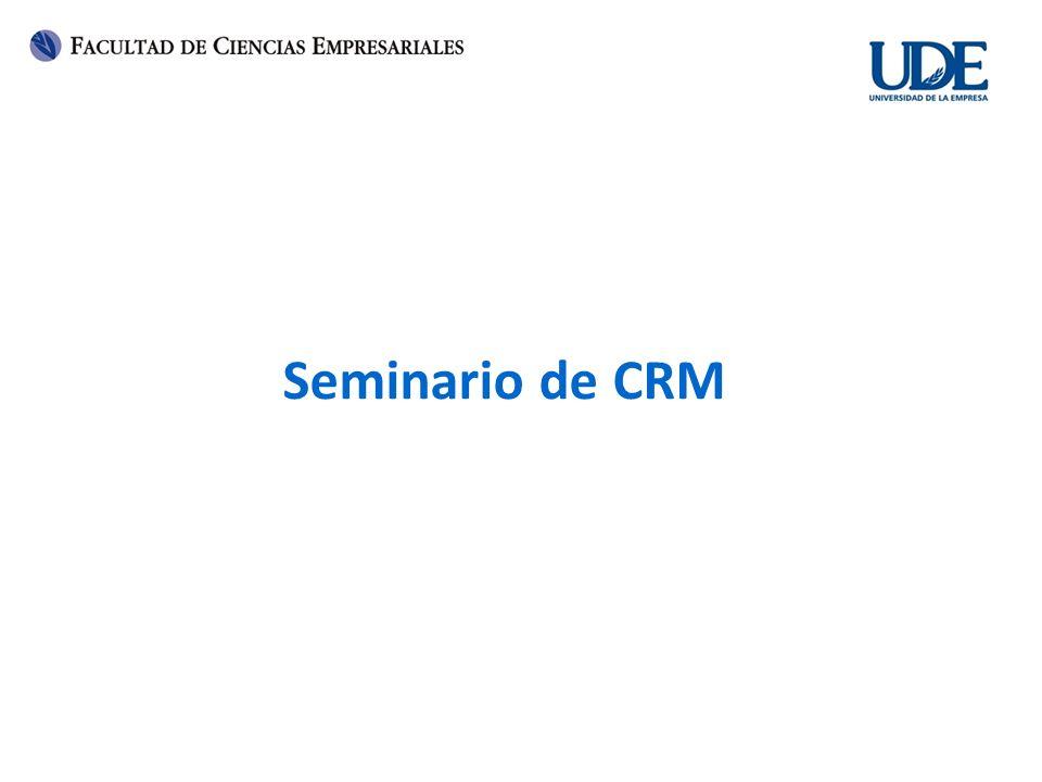 Seminario de CRM